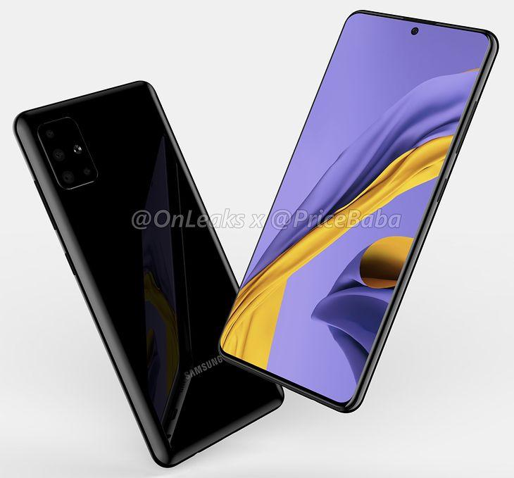 Tak ma wyglądać następca Samsunga Galaxy A50
