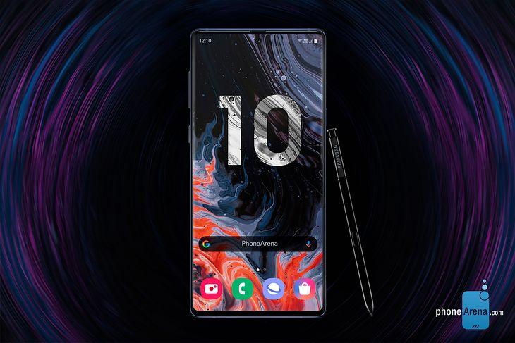 Samsung Galaxy Note 10 - wizualizacja możliwego wyglądu