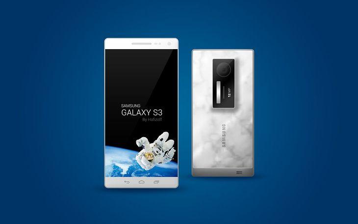 Koncept Galaxy S III (fot. concept-phones)