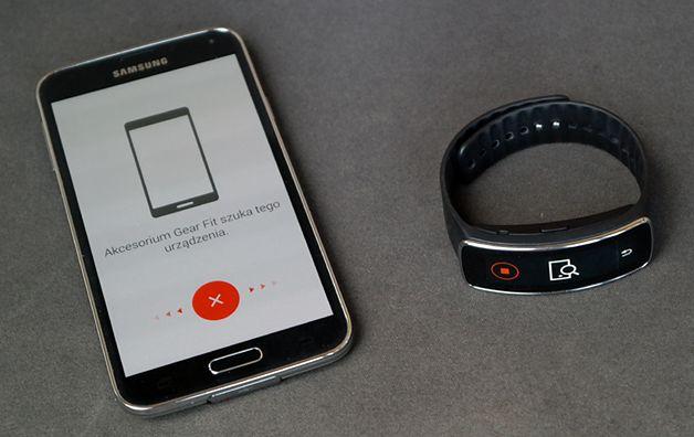 Galaxy S5 i Gear Fit
