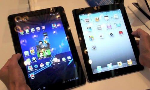 Galaxy Tab 10.1 i iPad 2 (fot. Nexus404.com)