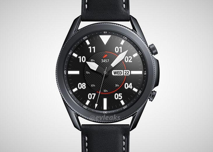 Tak ma wyglądać Samsung Galaxy Watch 3