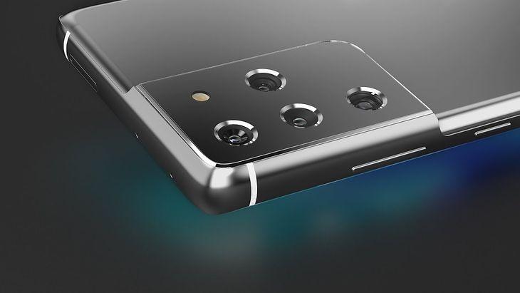 Samsung Galaxy S21 Ultra - wizualizacja na podstawie przecieków