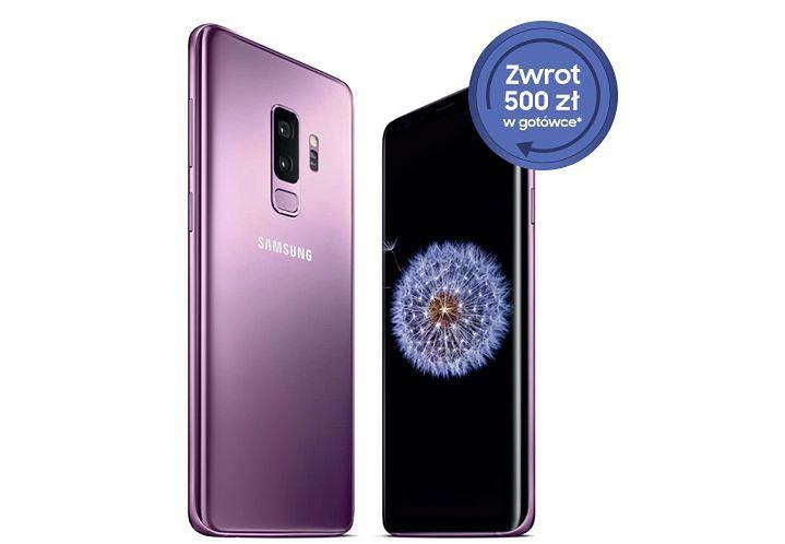 Promocja na Samsungi Galaxy S9 i S9+