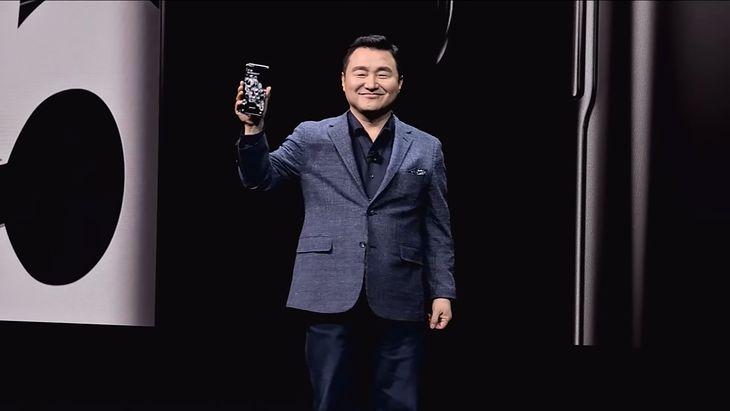 TM Roh na początku roku przejął kierownictwo nad Samsung Mobile