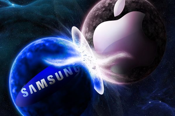 Samsung vs Apple (fot. businesstech.co.za)