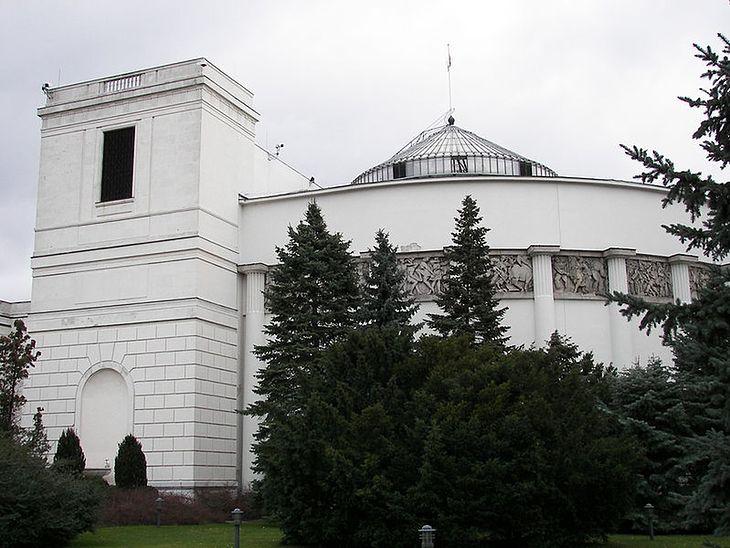 Sejm (fot. WikiCommons)