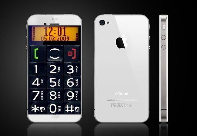 iPhone - telefon dla seniora...