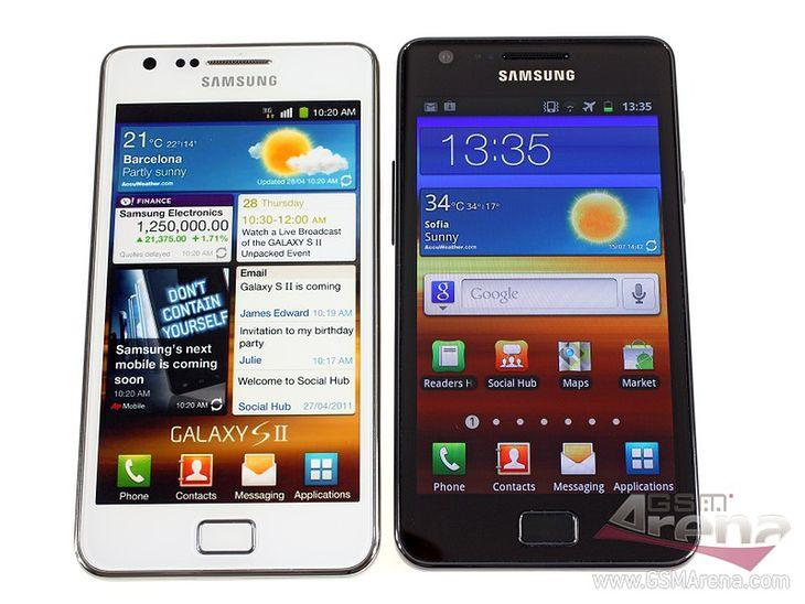 Biały i czarny Galaxy S II (fot. GSM Arena)