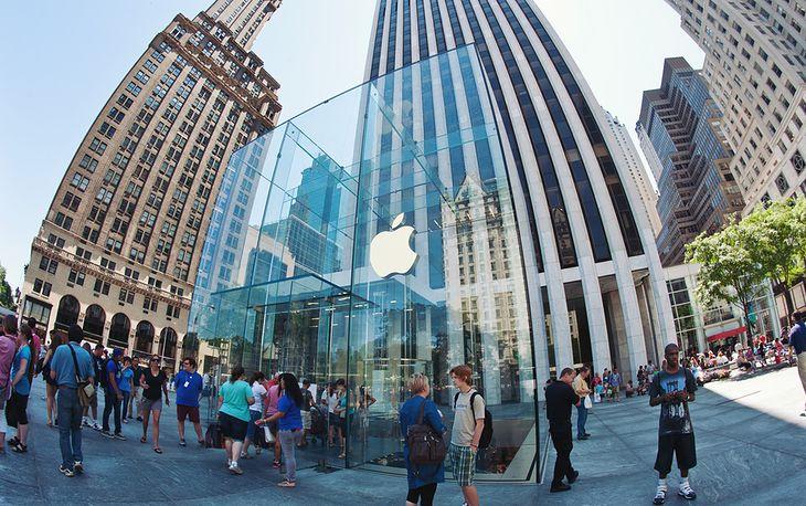 Salon Apple w Nowym Jorku