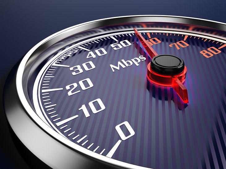 Szybkość połączenia internetowego