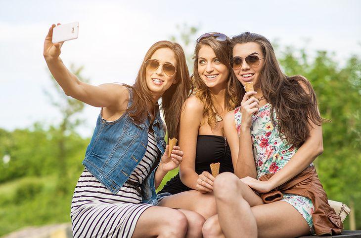 The best friends. Selfie