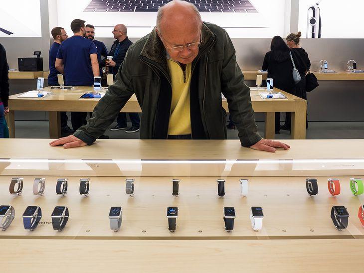 Apple Watch w sklepie