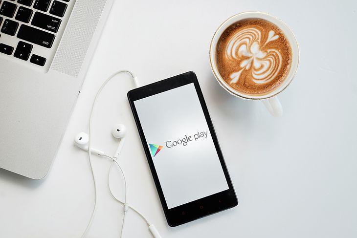 Smartfon i Google Play