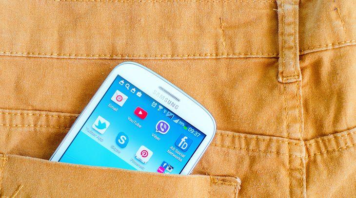Aplikacje na smartfonie Samsunga