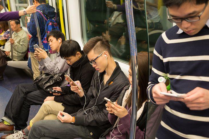 Smartfony w Chinach