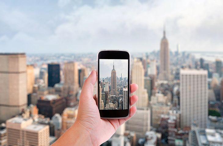 Panorama i smartfon