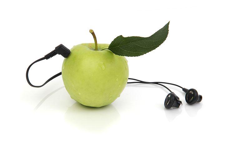 Jabłko ze suchawkami