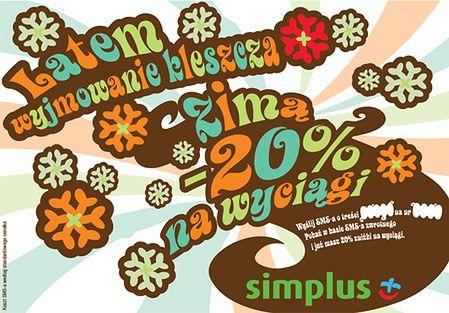 simplus - 20proc na wyciągi