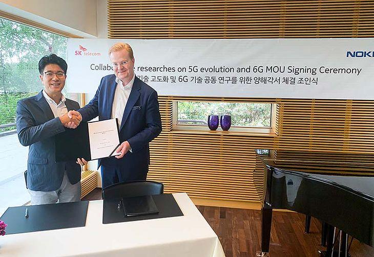 Sieć SK Telecom podpisała porozumienie z firmami Nokia i Ericsson