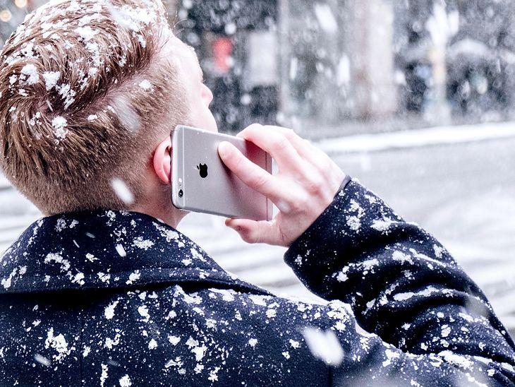 Smartfon i zimno to zdecydowanie nie najlepsi przyjaciele