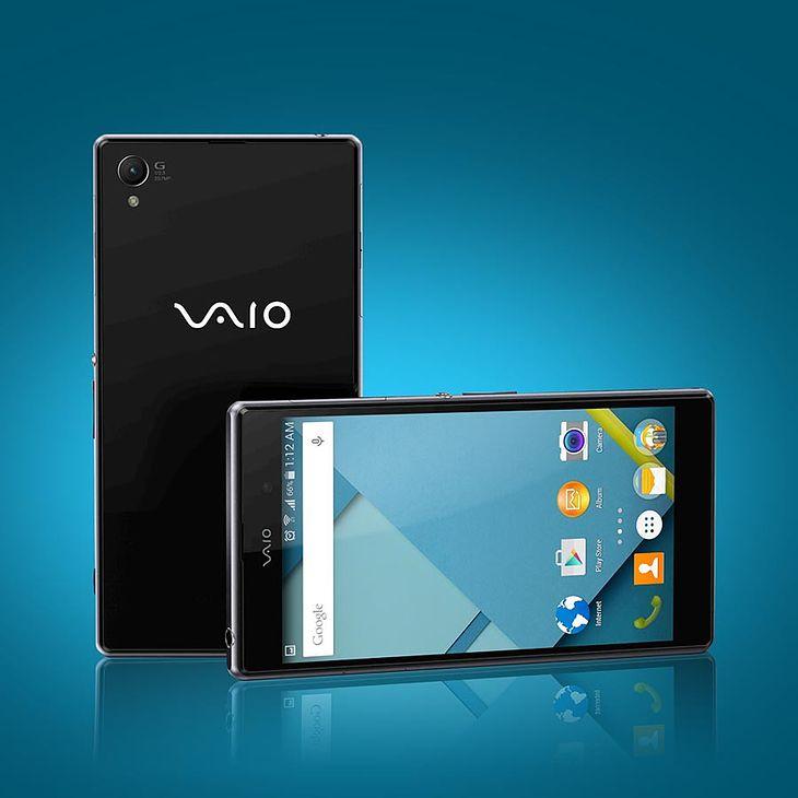 Czy tak może wyglądać smartfon Vaio?