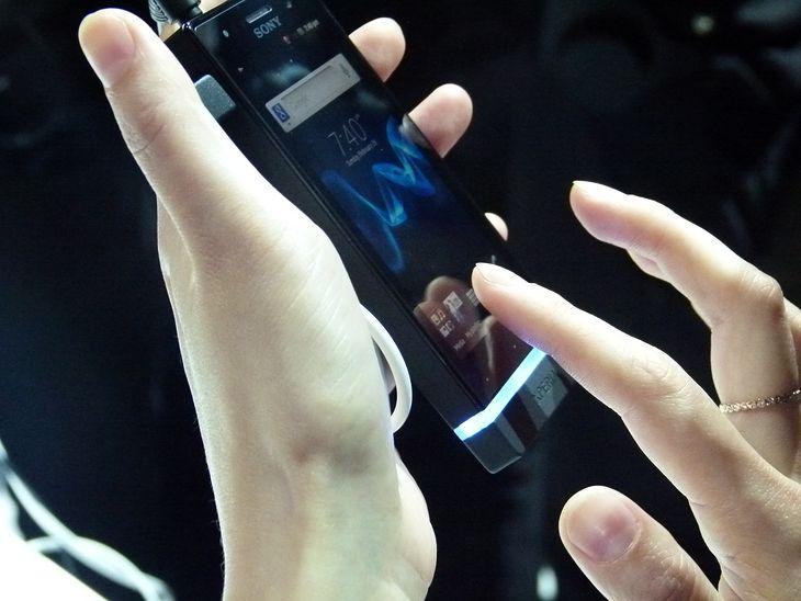 Sony NXT - podświetlenie | fot. wł.