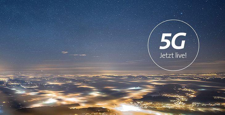 Swisscom startuje z siecią 5G