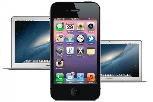 podłącz iPhonea, aby zsynchronizować