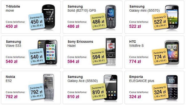 T-Mobile zwraca koszty zakupu telefonu