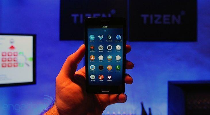 Tizen 2.0 (fot. engadget.com)