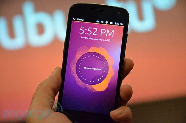 Ubuntu Phone OS (fot. engadget.com)