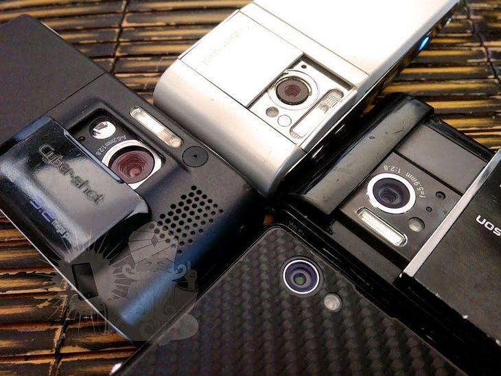 Sony Xperia Z1 Compact, Sony Ericsson Satio, Sony Ericsson C905 i Sony Ericsson K800