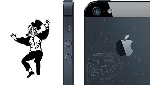 Zadrapania na iPhonie 5