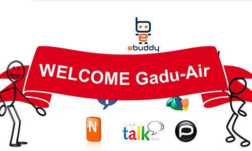 Welcome GaduAIR (fot.: FreeM)