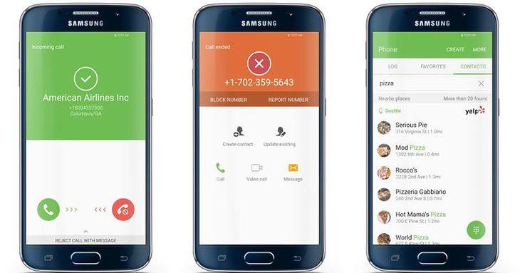 Dialer Galaxy S7