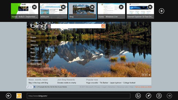 Internet Explorer 10 (fot. geek.com)