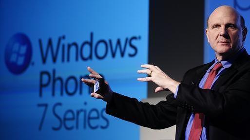 Prezes Microsoftu wciąż nie wątpi w sukces WP7 (fot. mywindowsphone.com)