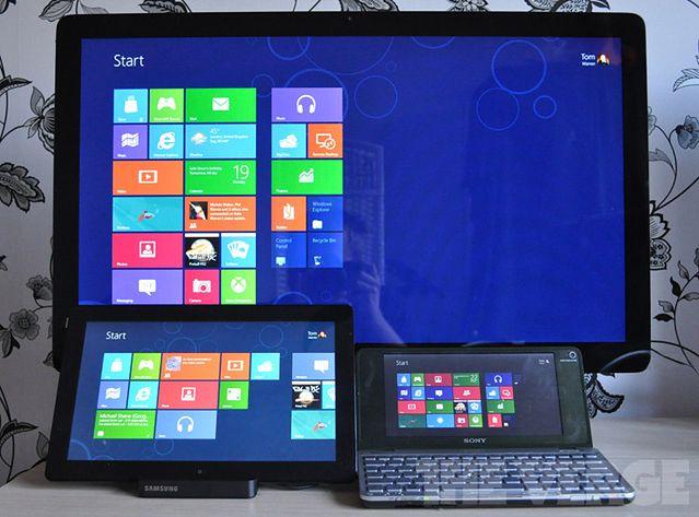 Urządzenia z Windowsem RT | fot. theverge.com