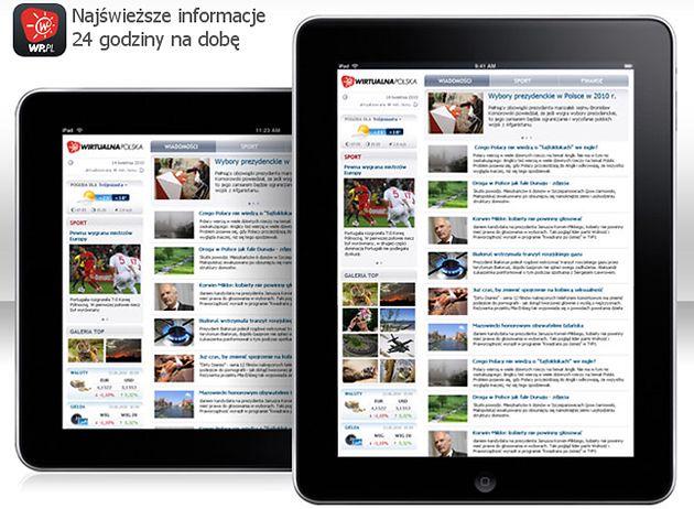 0ce70ee8077dd Wirtualna Polska pojawiła się na iPadzie
