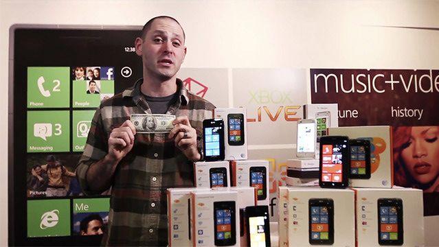 Smoked by Windows Phone | fot. theverge.com