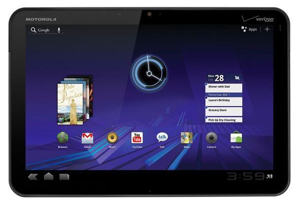 Motorola Xoom: nowe oprogramowanie