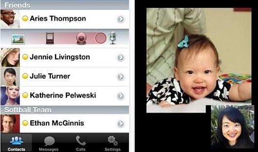Yahoo! Messenger iPhone