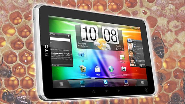 HTC Flyer z Android Honeycomb (fot. intomobile)