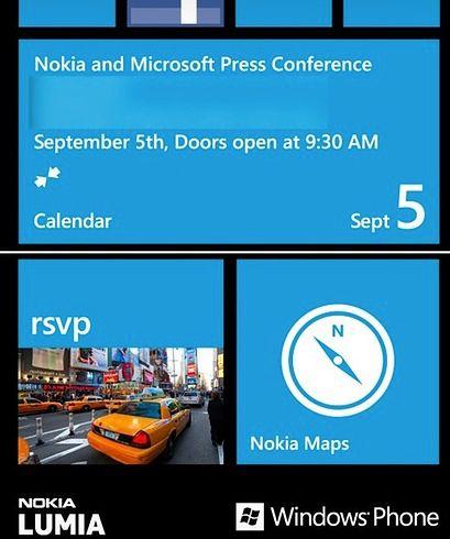 Zaproszenie na konferencję firm Nokia oraz Microsoft - fot. theverge.com