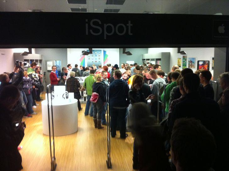 Polska premeira iPada w iSpocie w Galerii Mokotów