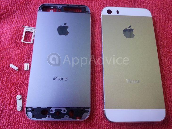 Złoty iPhone 5C (fot. appadvice.com)