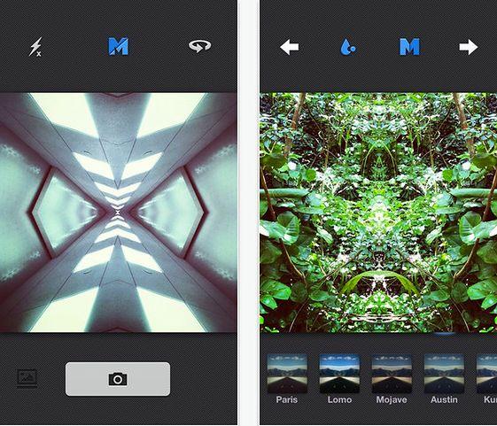 Aplikacja Mirrorgram