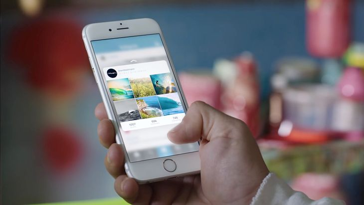 iPhone 6s z 3D Touch