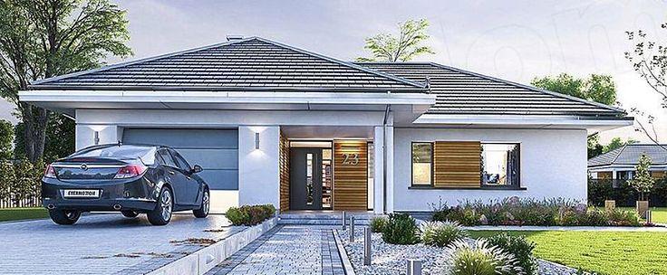 Domy parterowe dla każdego - projekty domów parterowych